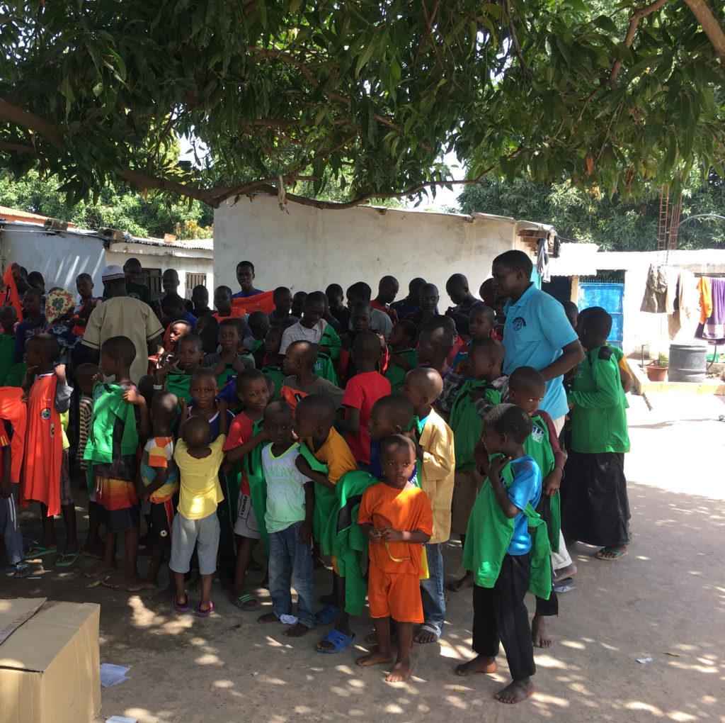 Ayuda humanitaria Gambia